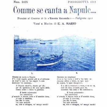 Comme se canta a Napule
