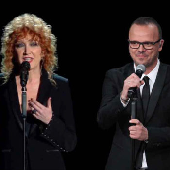 Gigi D'Alessio e Fiorella Mannoia duetto